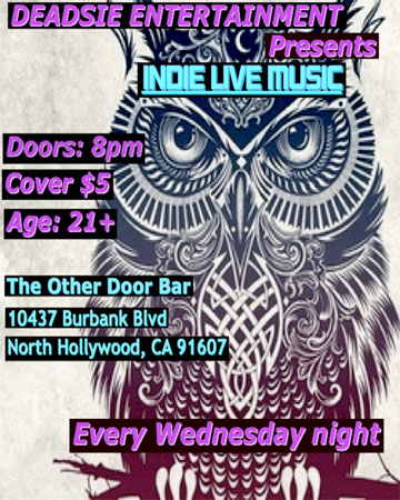 In Music Wednesday October 31st 8 00pm